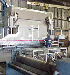 Click here to view a conversion chart for our 230 ton press brake.